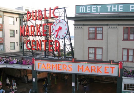 Peruse the goods of Pike Place Market