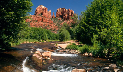 Sedona's famous Cathedral Rock