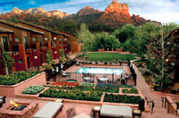 The Amara Creekside Resort in Sedona, Arizona