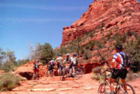 The Sedona Bike and Bean offers bike tours and rentals