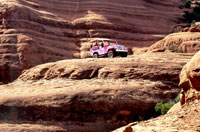 Pink Jeep Tours offers entertaining and educational red rock tours