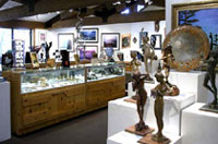The Sedona Arts Center features world-class exhibitions and work by local artists