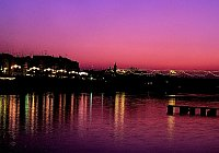 Rio Guadalquivir at Night