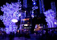 Holiday Season at Orchard Road in Singapore