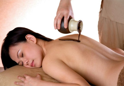 The chocolate-inspired treatment at Estheva Spa in Singapore