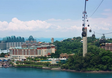 Pay a visit to Sentosa Island during your trip to Singapore
