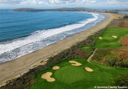 Squeeze in a game of gold while visiting Bodega Bay, California