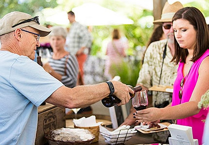 Days of Wine and Lavendar Festival at Matanzas Creek Winery in Sonoma County, California