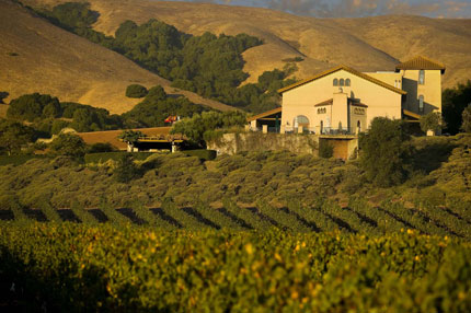 Gloria Ferrer Winery in Sonoma County, California