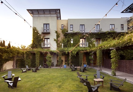 The Healdsburg Hotel in Sonoma County, California