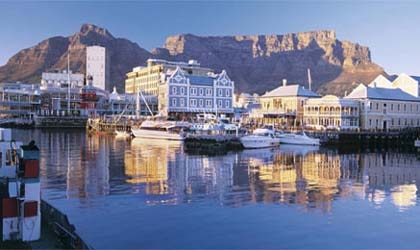The picturesque Victoria & Albert Waterfront in Cape Town, South Africa