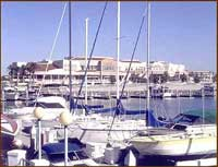The Coronado Bay Marina in San Diego, California