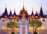 The Dhara Dhevi hotel in Chiang Mai, Thailand