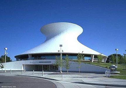 The Planetarium at the Saint Louis Science Center in Missouri