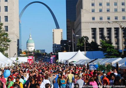 Taste of St. Louis event in Missouri
