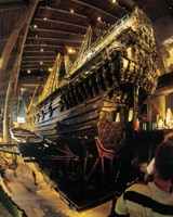 The amazingly intact Vasa warship was once at the bottom of Stockholm Harbor