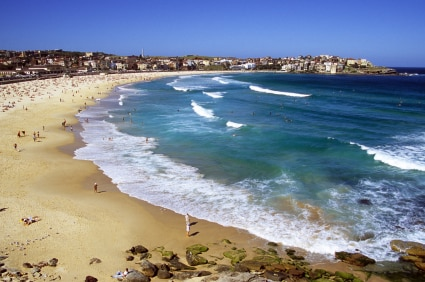 World famous Bondi Beach in Sydney