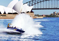 Harbour Jet Cruise is a fast and furious way to see Sydney Harbour