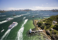 Manly Ferry and Sydney Harbour