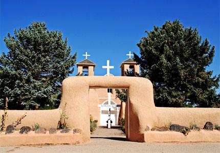 San Francisco de Asis Church in Taos, New Mexico