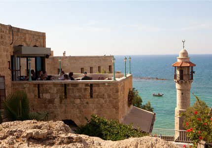 View of the Mediterranean from Jaffa (Photographer: Dana Friedlander, Photo courtesy of the Israeli Ministry of Tourism)