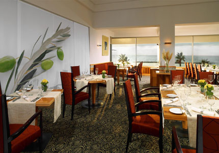 Olive Leaf Restaurant at the Sheraton Tel Aviv Hotel