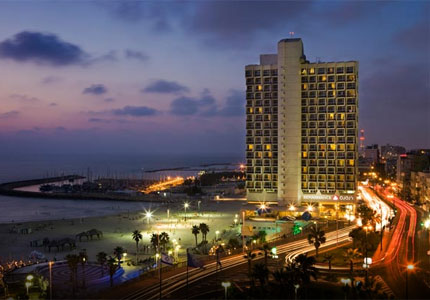 Exterior view of the Renaissance Tel Aviv Hotel