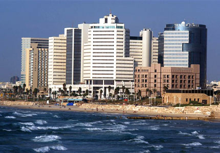 Mediterranean shore in south Tel Aviv (Photo courtesy of the Israeli Ministry of Tourism)