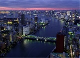 A view of Sumida in Tokyo