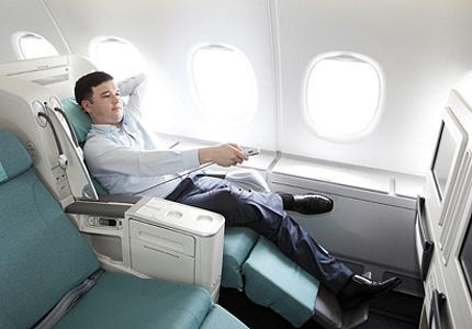 Enjoy Prestige Class with Korean Air