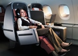 Qantas Airways is one of our Top 10 Business Class Airlines due to its spacious seating and excellent luxury amenities