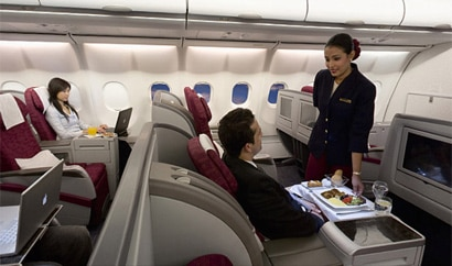 Qatar Airways is known for its excellent service