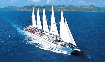 Enjoy elegant dining as you sail toward paradise with Windstar Cruises.