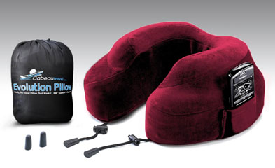 The Cabeau Evolution Pillow, one of GAYOT's Top 10 Travel Gifts