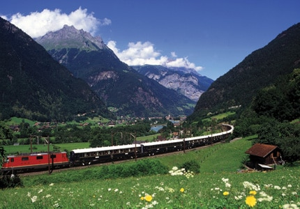 The Venice Simplon-Orient-Express, one of GAYOT's Top 10 Luxury Trains