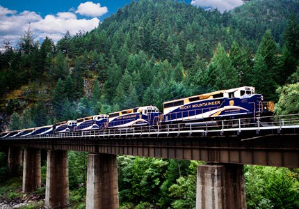 The Rocky Mountaineer, one of GAYOT's Top 5 Luxury Trains