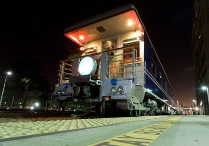 The Yerba Buena train was purchased by Rail Ventures in 1981