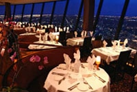 360 The Restaurant at the CN Tower in Toronto offers breathtaking views of the city