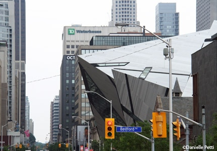 The Michael Lee-Chin Crystal, an addition to the Royal Ontario Museum, officially opened in 2007
