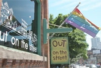 Canada's largest gay and lesbian pride celebration is held every year in The Gay Village in Toronto