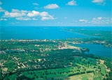 The verdant Grand Traverse Bay