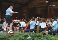 The venerable Interlochen Center for the Arts, whose Summer Arts Festival includes a Shakespeare Festival