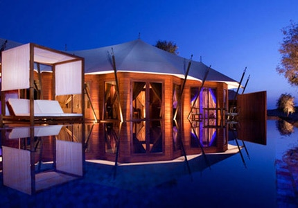The Banyan Tree Al Wadi in the United Arab Emirates, one of GAYOT.com's Top 10 Romantic Hotels