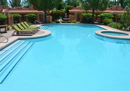 The pool at Green Valley Spa in St. George, Utah