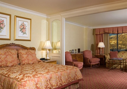 A Premier Room at The Grand America Hotel in Salt Lake City, Utah