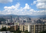 A view of downtown Caracas