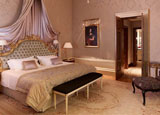 A guest room at Hotel Danieli, one of GAYOT's Top 10 Hotels in Venice