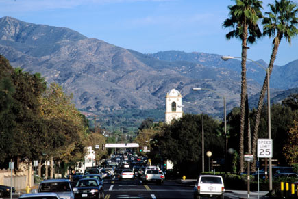 Downtown Ojai offers great shopping and a casual, small town feel