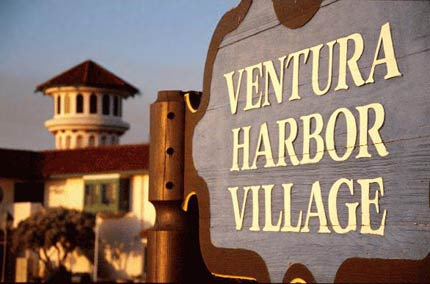 Ventura Harbor Village is filled with interesting shops and casual restaurants
