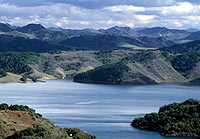 Lake Casitas is viewable from Highway 150 on the way from Ventura to Ojai